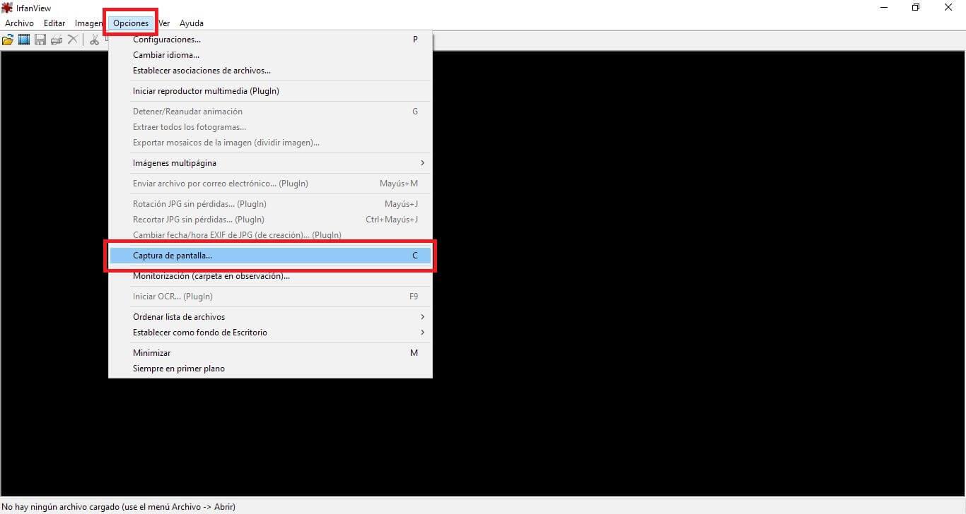 tomar capturas en Windows diez que incluyan el cursor del ratón