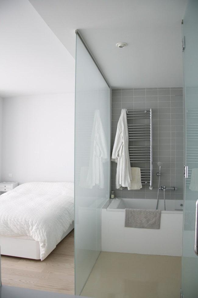 Integrar el baño al dormitorio