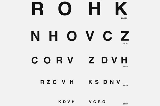 Examen de la vista: tipos y de qué manera hacer