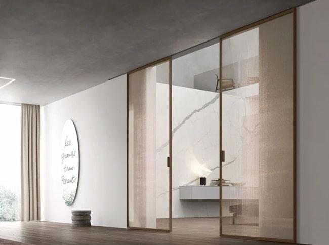Ventajas y desventajas de las puertas de corredera de cristal