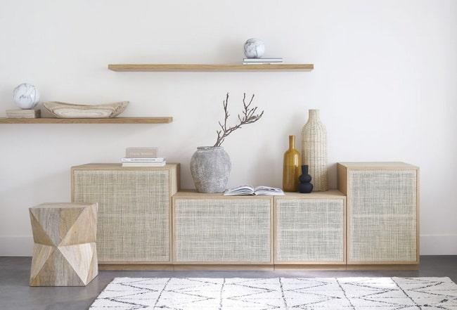 Muebles y accesorios de reja