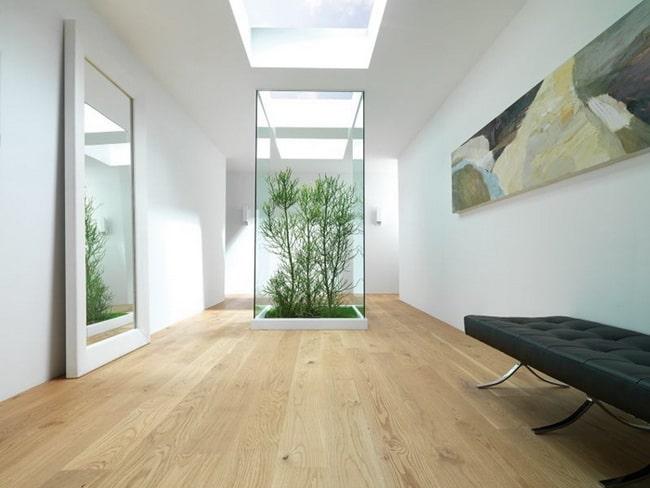 Interiores con suelos vinílicos